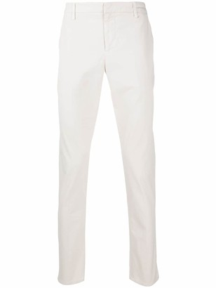 Dondup Straight Leg Chino Trousers