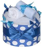 T-TOMI Eco Lux Diaper Cake, Large, Circles