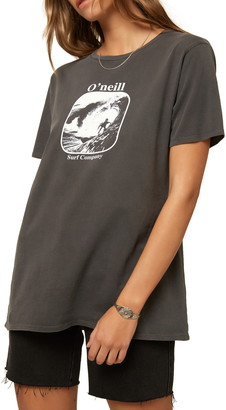 O'Neill Cut Back Oversize Graphic Tee