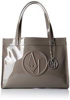 Armani Jeans RJ Shopper Convertible Top Handle Bag