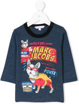 Little Marc Jacobs printed long sleeved T-shirt