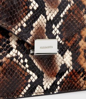 AllSaints Miki Sliver Leather Crossbody Bag
