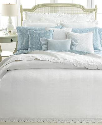 Lauren Ralph Lauren CLOSEOUT! Bedding, Pair of Spring Hill King Pillowcases