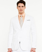 Le Château Linen Contemporary Fit Blazer