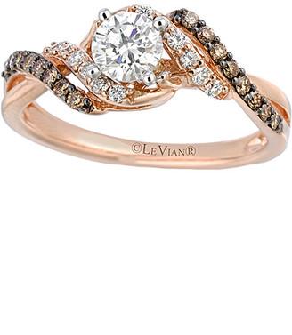 LeVian Le Vian 14K Two-Tone 0.74 Ct. Tw. Diamond Ring