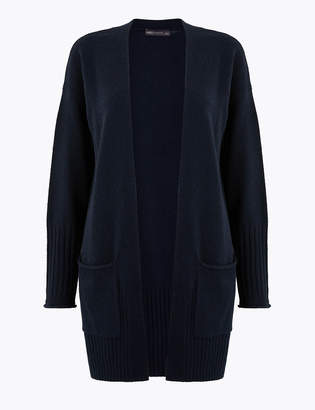 M&S CollectionMarks and Spencer Lola Ribbed Edge to Edge Cardigan