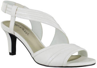 Easy Street Shoes Womens Magnolia Pumps Open Toe Spike Heel
