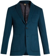 Burberry Single-breasted cashmere blazer