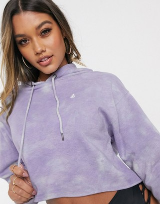 Volcom Clouded Hoodie in washed lilac