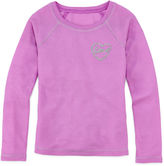 JCPenney Total Girl Long-Sleeve Thermal Pajama Top - Girls 4-16
