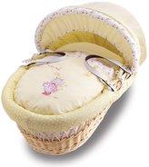BabyCenter Izziwotnot Humphrey's Corner Lottie Fairy Princess Primrose Natural Wicker Moses Basket
