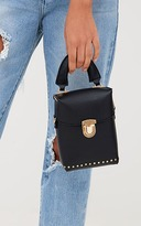 PrettyLittleThing Black Mini Handled Handbag