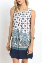 Gilli Paisley Sleeveless Dress