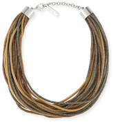 Lafayette 148 New York Signature Mesh Multi-Strand Necklace
