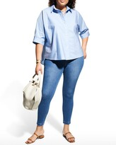Thumbnail for your product : Lysse Plus Size Toothpick Stretch Denim Leggings