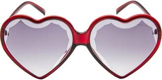 Rad + Refined Heart Shaped Sunglasses