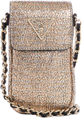 GUESS Delon Chit Chat Phone Case Crossbody