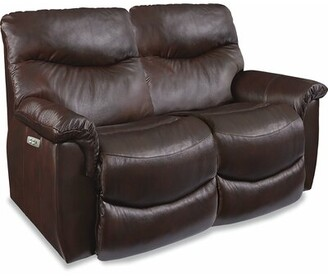 La Z Boy James Reclining 64 inches Pillow top Arms Loveseat La-Z-Boy