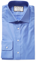 Thomas Pink Terrance Embroidered Slim Fit Dress Shirt