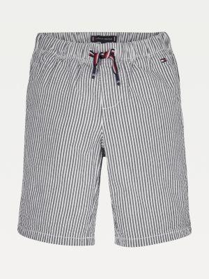 Tommy Hilfiger Pure Cotton Pull-On Seersucker Shorts