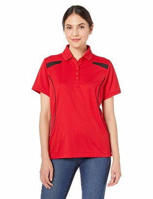 Ashe Xtream Women's ACTY-75112-Recycled Polyester Performance Textured Polo