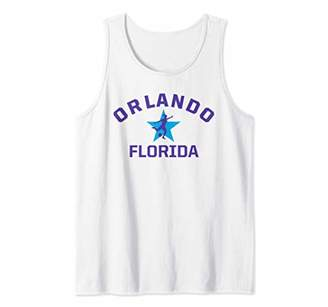 Orlando Soccer Jersey Womens Florida Gift Pride Top Tank Top