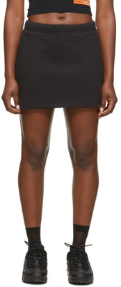 Heron Preston Black Fleece Miniskirt