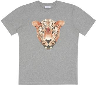 Marcelo Burlon Kids Of Milan Printed cotton T-shirt