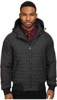 Scotch & Soda Short Quilted Jacket in Mix & Match Wool and Nylon Quality