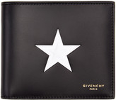 Givenchy Black & White Star Wallet