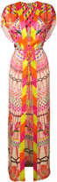 Temperley London 'Misty' print kaftan - women - Silk - S