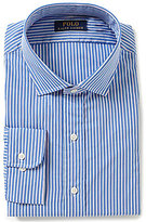 Polo Ralph Lauren Fitted Classic-Fit Spread-Collar Striped Dress Shirt