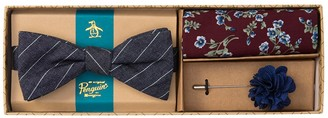 Original Penguin Nara Stripe 3-Piece Bow Tie Set