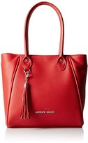 Armani Jeans Tumbled Eco Leather Tassel Tote