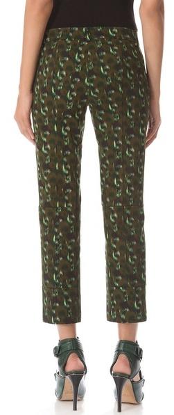 Derek Lam Cropped Trousers