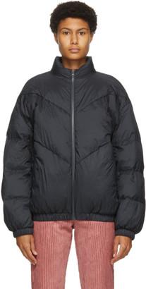 Etoile Isabel Marant Black Short Kristeno Coat