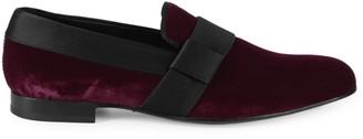Mezlan Palance Velvet Loafers