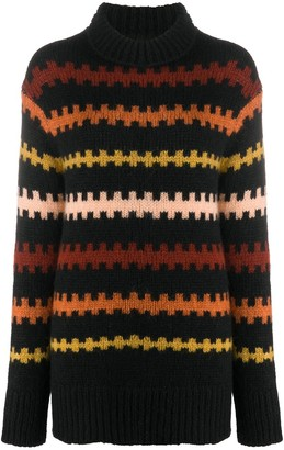 Plan C Striped Jumper