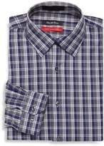 Saks Fifth Avenue Men's Trim-Fit Gingham Dress Shirt