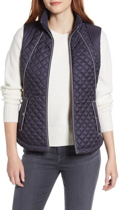 Gallery Knit Side Quilted Vest