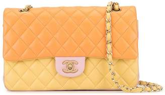 Chanel Pre-Owned quilted CC colour-block shoulder bag