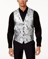 INC International Concepts Men's Slim-Fit Metallic-Print Vest, Only at Macy's