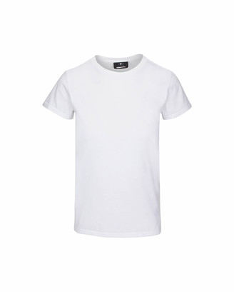 7 For All Mankind Baby Tee in Optic White
