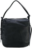DKNY hobo convertible bag - women - Cotton/Goat Skin - One Size