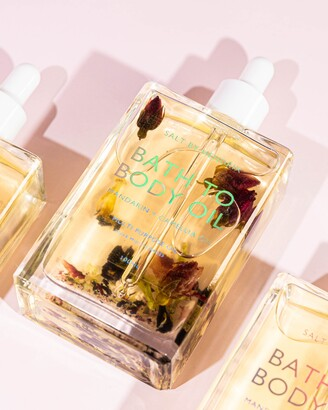 SALT BY HENDRIX Women's Yellow Body Oil - Bath To Body Oil - Size One Size, 100ml at The Iconic