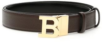 Bally Embossed B Buckle Belt