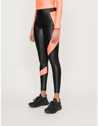 Koral Pista Infinity high-rise stretch-jersey leggings