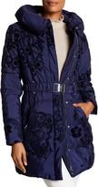 Desigual Spread Collar Long Bubble Jacket