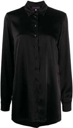Talbot Runhof Long Line Shirt