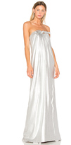 Halston Gown With Front Twist
